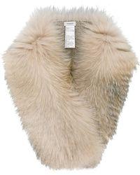 Inverni - Fox Fur Scarf - Lyst