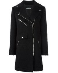 Jeremy Scott - Off-centre Zipped Coat - Lyst