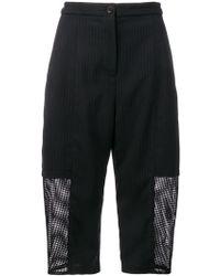 Chalayan - Pinstripe Long Shorts - Lyst