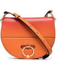 JW Anderson - Orange Latch Goatskin Cross-body Bag - Lyst