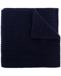 Dolce & Gabbana - Ribbed Knit Scarf - Lyst
