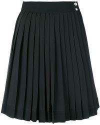 Versus - High-waist Pleated Skirt - Lyst