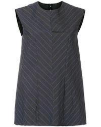 Ter Et Bantine - Striped Sleeveless Top - Lyst
