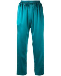 Gianluca Capannolo - Relaxed Cropped Trousers - Lyst