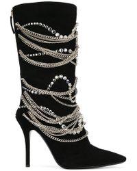 Giuseppe Zanotti - Notte Chain Boots - Lyst