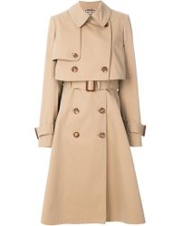 Alexander McQueen - Layered Trench Coat - Lyst