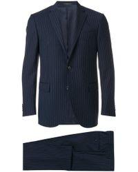 Corneliani - Pinstripe Suit - Lyst