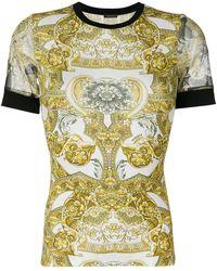 Versace | Printed T-shirt | Lyst