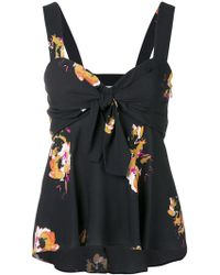 A.L.C. - Floral Babydoll Camisole - Lyst