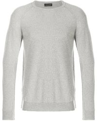 Roberto Collina - Classic Fitted Sweater - Lyst