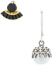 Iosselliani - Puro Pearl Earrings - Lyst