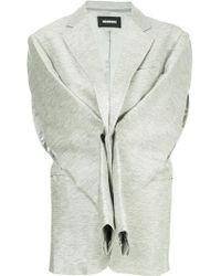 Moohong - Sleeve Detail Vest - Lyst