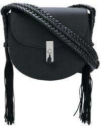 Altuzarra - Tassel Detail Flapped Shoulder Bag - Lyst