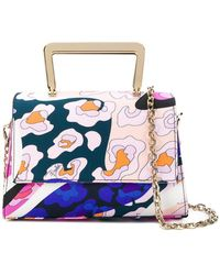 38e0d2d0c78 Givenchy Antigona Abstract Floral Leather Tote Bag - Lyst
