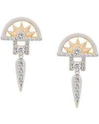 V Jewellery - Estee Earrings - Lyst