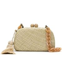 Serpui - Straw Clutch - Lyst