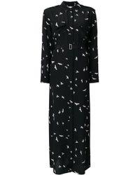 Equipment - Long Bird Print Dress - Lyst