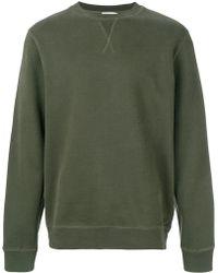 Sunspel - Crew Neck Sweatshirt - Lyst