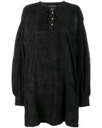 Diesel Black Gold - Lambskin Dress - Lyst