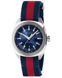 Lyst - Accesorio para relojes Emporio Armani de hombre de color Rojo 95b20e3917d