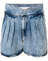 IRO - Loyal Denim Shorts - Lyst