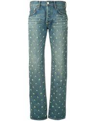 Tu Es Mon Tresor - Dead Stock Flower Beads Jeans - Lyst