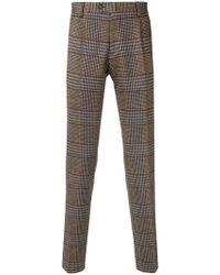 Etro - Herringbone Tailored Trousers - Lyst