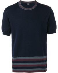 Qasimi - T-Shirt mit Streifen - Lyst