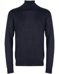 Corneliani - Turtle-neck Fitted Sweater - Lyst