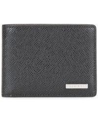BOSS - Textured Wallet - Lyst