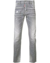 DSquared² Slim Fit Jeans - Gray