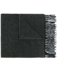 PS by Paul Smith - Fringe Knit Scarf - Lyst