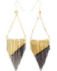 Iosselliani - 'black Hole Sun' Earrings - Lyst