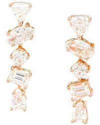 Kimberly Mcdonald - 'offset Bar' Diamond Stud Earrings - Lyst