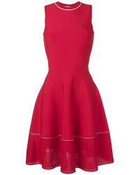 Victoria Beckham - A-line Pleated Dress - Lyst