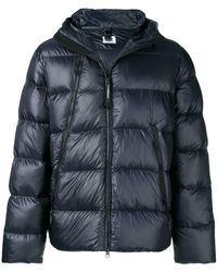 C P Company - Down Jacket With Hood - Lyst