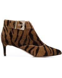 Chloe Gosselin - Tiger Ankle Boots - Lyst
