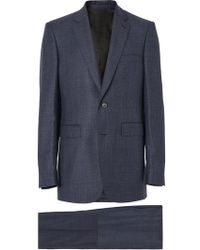 Burberry - Classic Fit Check Wool Three-piece Suit - Lyst
