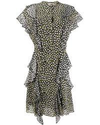 Dorothee Schumacher - Printed Ruffle Dress - Lyst