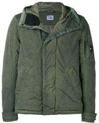 C P Company - Zipped Bomber Jacket - Lyst