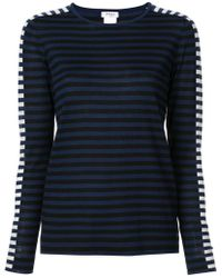 Akris Punto - Round Neck Striped Jumper - Lyst