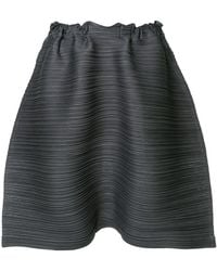 Pleats Please Issey Miyake - Thicker Bounce Shorts - Lyst