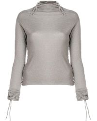 Andrea Ya'aqov - Turtleneck T-shirt - Lyst