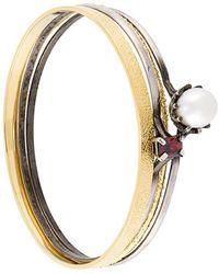 Iosselliani - 'silver Heritage' Pearl Bracelet Set - Lyst