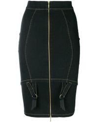 Murmur - Zipped Pencil Skirt - Lyst