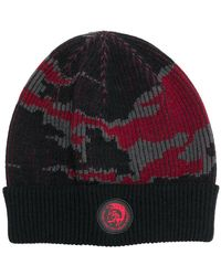 DIESEL - Dvl-beany-special Collection Hat - Lyst