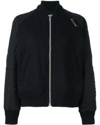 Sacai | Quilted Bomber Jacket | Lyst