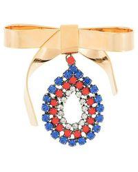 Marni - Bow Embellished Brooch - Lyst