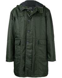 Les Hommes - Classic Raincoat - Lyst