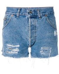 Chiara Ferragni - High Waisted Shorts - Lyst